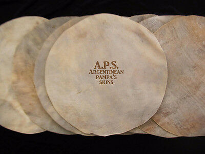 New Professional Steer Argentinean HQ Skins for Congas Quinto Tumba Head 20""