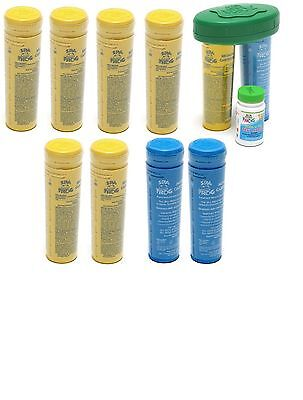 Spa Frog 10 pk 7 Bromine 3 Mineral Float & Test Strips PRIORITY MAIL SHIPPING