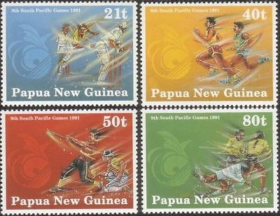 Papua New Guinea 1991 SG651 South Pacific Games set MNH