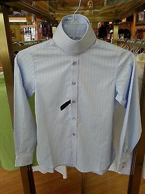 Sale! New Ariat Child's Blue English Show Shirt! Free Shipping!