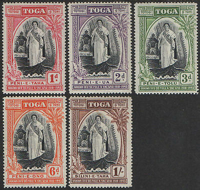 Tonga 1944 SG83 Silver Jubilee Queen Salote's Accession MLH