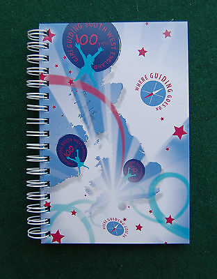 Girl Guides Notebook - South West, A6, Spiral Bound, Lined