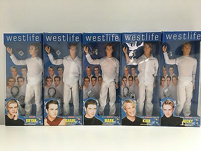 Vintage Westlife Fashion Doll Characters, Complete Set of 5, Unopened