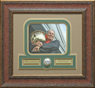 Fred Couples Signed Golf Ball Framed