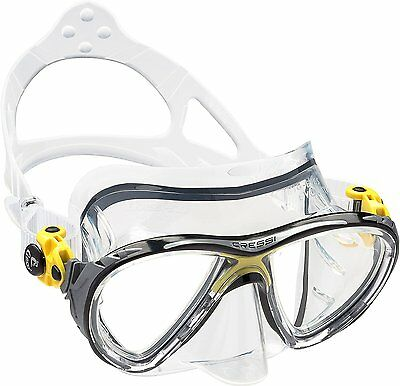 Cressi Big Eyes Evolution, Scuba Diving and Snorkeling Premium Mask - Made...