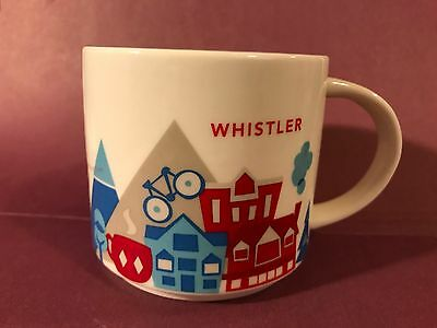 Whistler Canada Starbucks You Are Here YAH Collection 14 Oz Mug