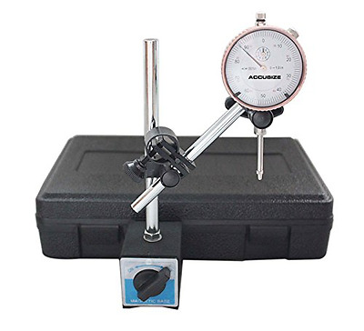 Accusize - 0 - 1'' x 0.001'' Dial Indicator with 60 Kgs Magnetic Base Set, #EG00