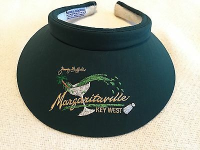 Jimmy Buffett's Margaritaville Key West Sport / Tennis Visor - Green (New)
