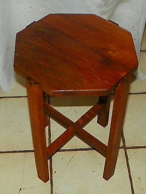 Solid Oak Mission Plant Stand  (PS195)