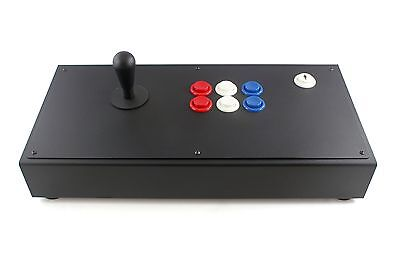 All Metal American Happ Custom Arcade Fight Stick Case for PC Emulation Mame