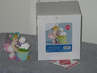 My Little Kitchen Fairies Easter Cupcake Lamb Fairie Retired Year 2012 #4031005