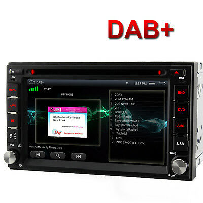 """6.2"""" Double 2 DIN In-Dash Android 5.1 Stereo Car GPS WIFI Sat Nav Radio BT MP3"""