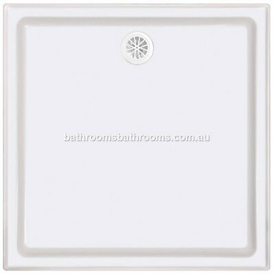 Polymarble Shower Base Sizes:820/900/1000/1060/1200/1500 Aus Made 4 Sided Tile L