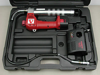 Alemite 575-A Cordless 12v Battery Powered Grease Gun w/ Battery, Charger, Case