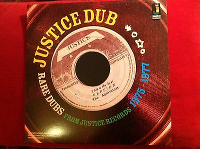 Justice Dub - Rare Dubs From Justice Records 1975 - 1977 New Vinyl Lp