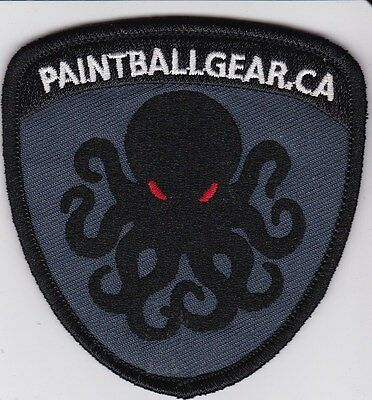 """Paintball Gear 3"""" Iron Patch"""