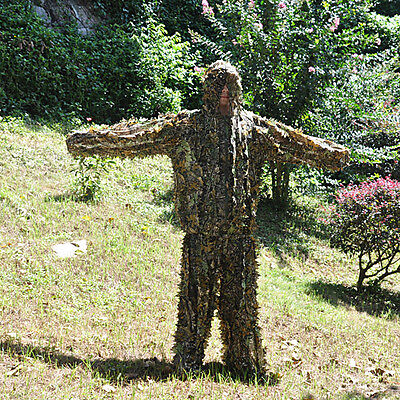 2017 Jungle Yowie 3D Camouflage Ghillie Suit netting cloak Hunting Training tool