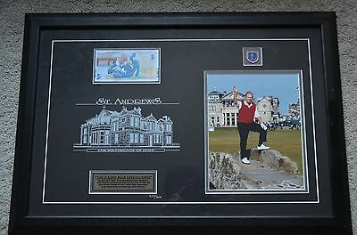 Jack Nicklaus Farewell to St. Andrews Bridge Photo The Golden Bear Says Goodbye