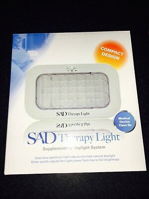 SAD Therapy Facial Lamp Brand New With Warranty