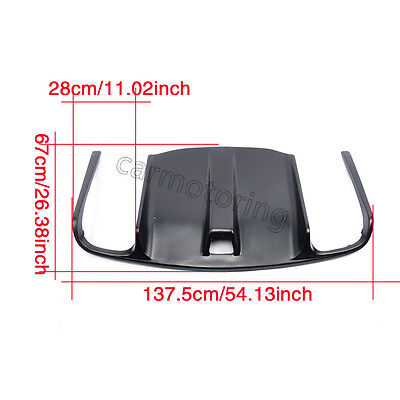 FRP auto Rear Diffuser fit for Mercedes Benz W207 E550 AMG Sport Package 10-12