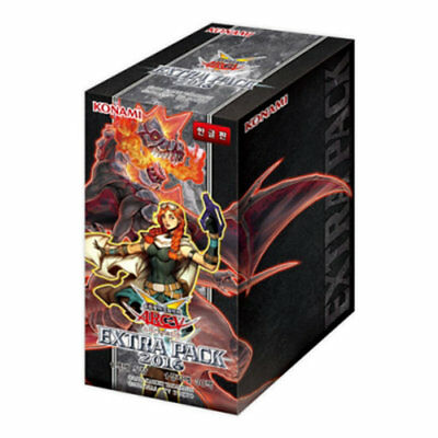 "Yugioh Cards  ""EXTRA PACK 2016"" BOOSTER BOX (30pack) / Korean Ver"
