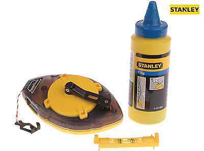 STANLEY 047465 Power Winder Chalk Line 30m , Chalk & Line Level. NEW.