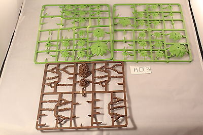 Warhammer Scenery Plastic Trues on Sprue