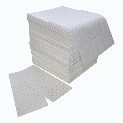 """Spilfyter Z-75 MRO White Oil Only Double Weight Sorbent Pad, 18"""" Length x 16"""" of"""