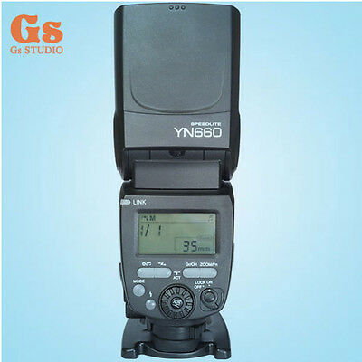 Yongnuo YN660 Flash Speedlite GN66 for Canon Nikon Olympus Pentax Panasonic