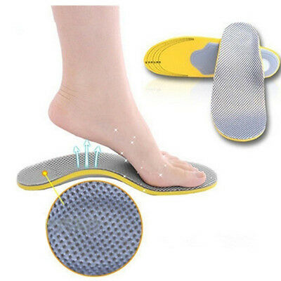 Orthotic Sport running Shoes Insoles Insert High Arch Support Pad For Women Men