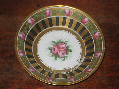 Charming English High Regent Painted Saucer Bowl