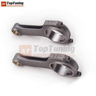 4340 Forged Conrod for Fiat 500 Old Model 2 cylinder 126mm Bielle Con Rods Rod