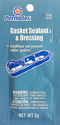 PERMATEX Gasket Sealant and Dressing Protects Rubber Gaskets 09974