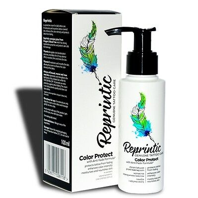 Reprintic Tattoo Kunst Pflegecreme Creme Heilung Aftercare tätowierte Haut 100ml
