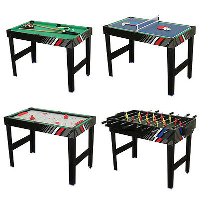 4 in 1 Foosball Game Table Pool, Football Table Tennis Hockey For Kids Toy Sport
