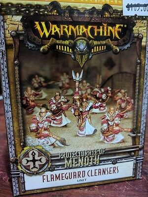 War Machine Protectorate of Menoth Flameguard Cleansers Unit of 10 (PIP 32097)