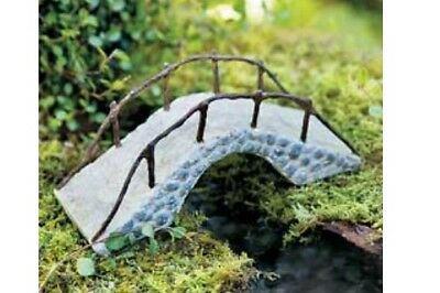 Miniature Dollhouse FAIRY GARDEN - Stone Foot Bridge - Accessories