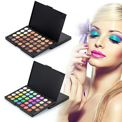 40 Colors Fashion Cosmetic Matte Eyeshadow Eye Shadow Makeup Palette Shimmer Set