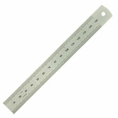 Moore and Wright 150mm METRIC ONLY Engineers Precision Metal Steel Rule ER306F
