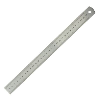 """Moore & Wright 300mm 12"""" Traditional Engineers  Stainless Steel Rule Ruler ER112"""