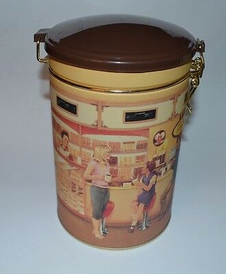 TIM HORTONS Collectable Coffee Canister Tin #001 Always Fresh Limited Edition