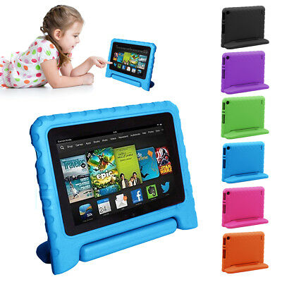 Children kids Safe Case EVA Foam Cover F Amazon Kindle Fire HD 7 2015 Tablet PC