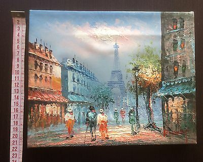 FRIENDS French Oil Painting Monica's Apartment TV screen used Prop Genuine