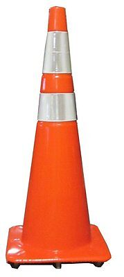Work Area Protection 36PVCS-R Polyvinyl Chloride Standard Recessed Traffic Cone