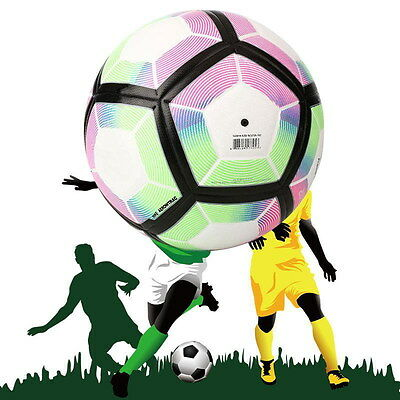 2016-17 Premier League Anti-Slip Football Match Soccer Ball Gift SIZE 5 !