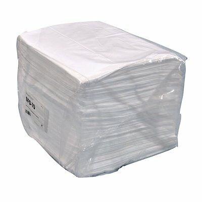 """Spilfyter SFO-70 Streetfyter White Single Weight Oil Only Sorbent Pad, 18"""" x 16"""""""