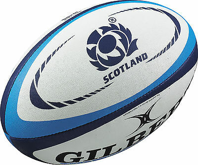 Clearance Line New Gilbert Rugby Scotland Replica Ball Size 5