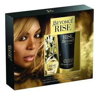 Beyonce Rise Gift Set 15ml Eau De Parfum & 75ml Shower Gel Mothers Day Present