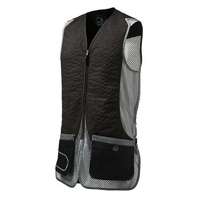 Beretta Shooting Vest DT11 black & grey clay pigeon shooting size XLarge
