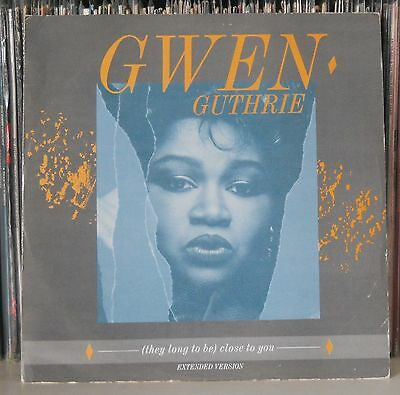 """Gwen Guthrie - Save Your Love For Me - 12"""" Single CLASSIC SOUL RARE GROOVE HEAR"""